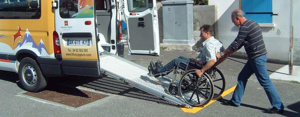 Transport pour les PMR
