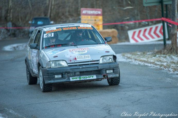 Burry remporte le rallye du Dévoluy
