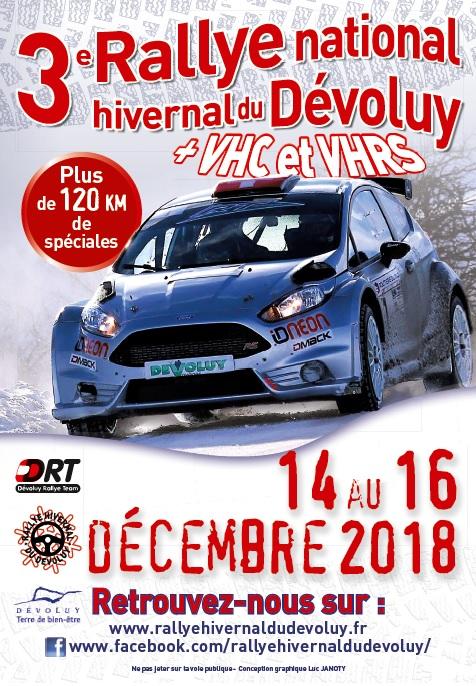 Le Rallye hivernal du Dévoluy est de retour cet hiver